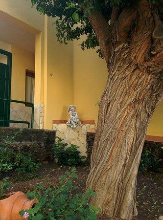 LABRANDA Oasis Mango: And strange statues amongst the flowers