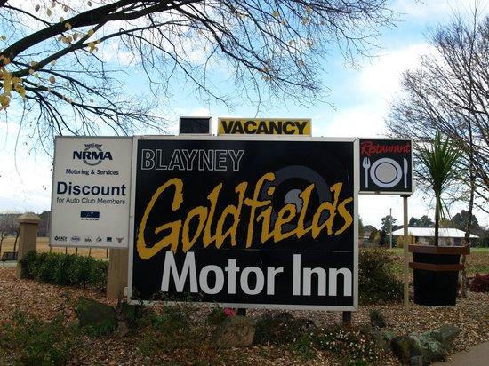 Blayney Goldfields Motor Inn : Blaney Goldfields Motel