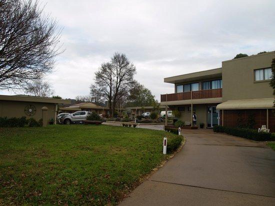 Blayney Goldfields Motor Inn: Blaney Goldfields Motel Entrance