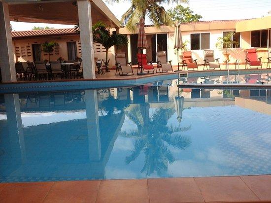 Crismon Hotel : The pool view