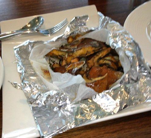 Oakridge Wines: Seasonal mushrooms cooked in a papilotte