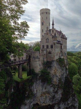 Hotel Restaurant Forellenhof Rössle: Замок Лихтенштейн