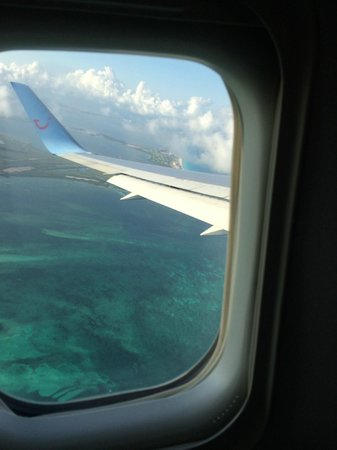 Iberostar Tucan Hotel: View from plane over Cancun as we take off - Bye Bye Mexico, hope we're back soon!