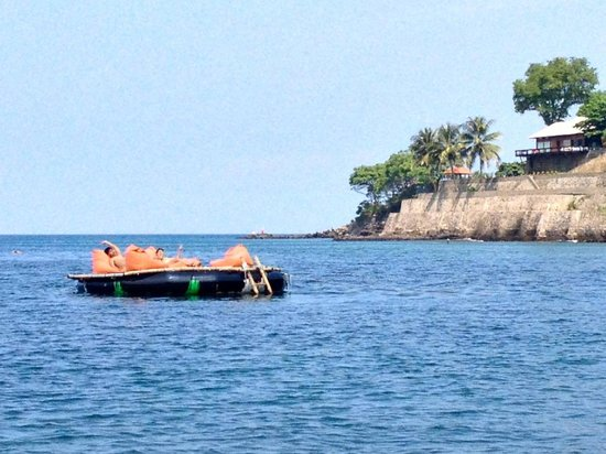 Sheraton Senggigi Beach Resort: Sea platform