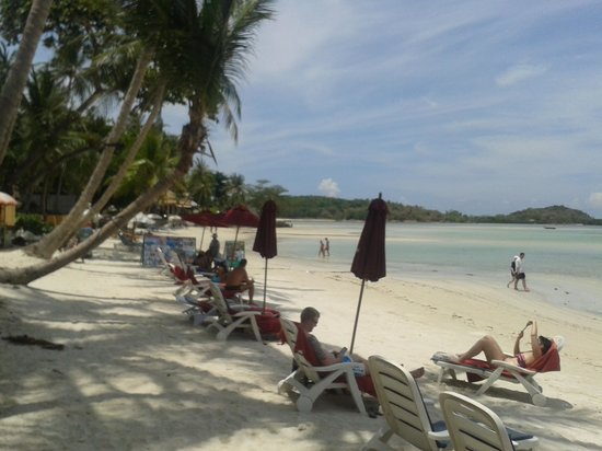 The Briza Beach Resort Samui: plaza przy hotelowa