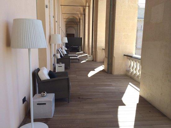 InterContinental Marseille - Hotel Dieu : Terrasse suite présidentielle