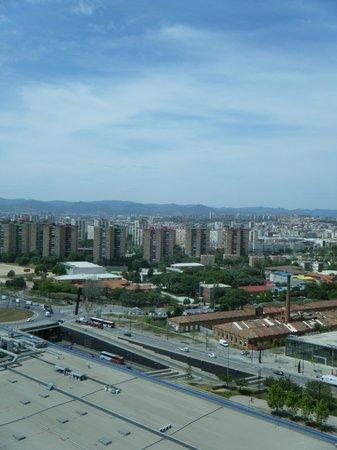 Hotel Porta Fira: Window view 2
