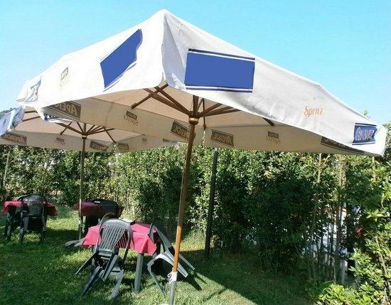 Casa La Querce Bed & Breakfast: Giardino esterno per coffee break