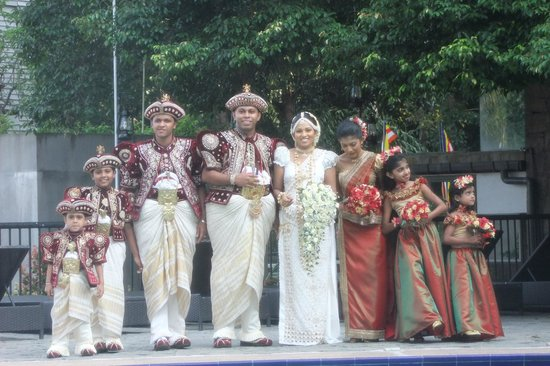 Hotel Thilanka: wedding at the hotel