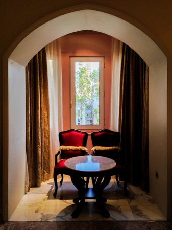 The Taj Mahal Palace: More chairs than I need