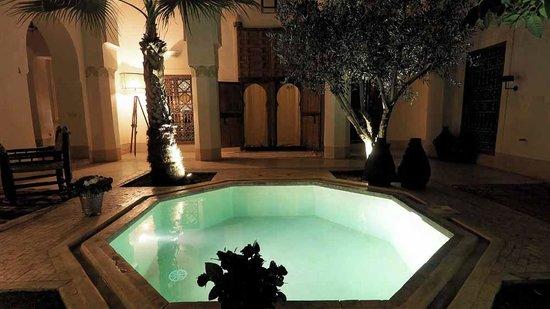Riad Matham : riad la nuit