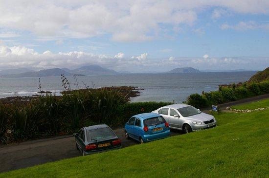 Sandrock Holiday Hostel : la vue sur l'océan