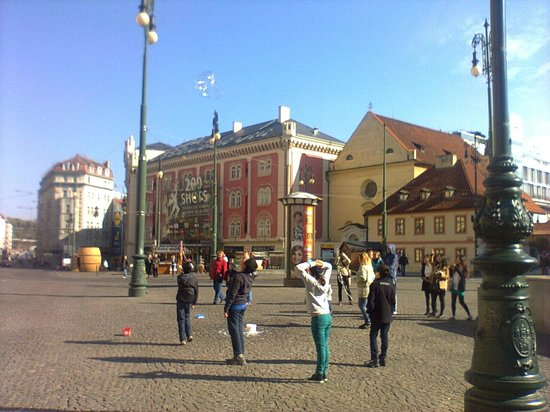 PALLADIUM Shopping Center Prague: Main entrance view