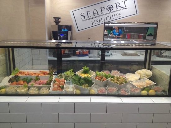 Seaport Fish Chips: Display