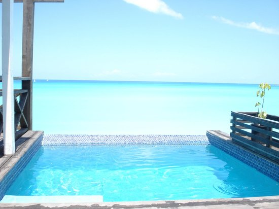 COCOS Hotel Antigua : View from the plunge pool