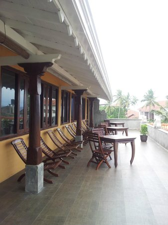 Thaproban Pavilion Resort and Spa : 3rd floor balcony