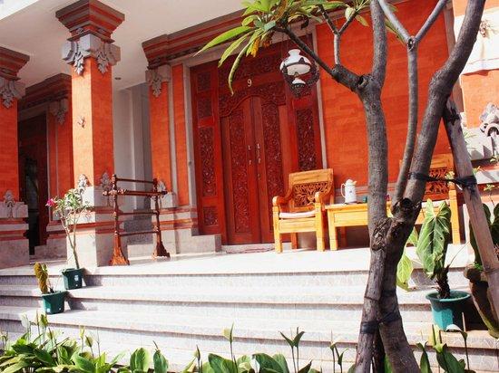 Teba House Ubud Guest House : Grounds