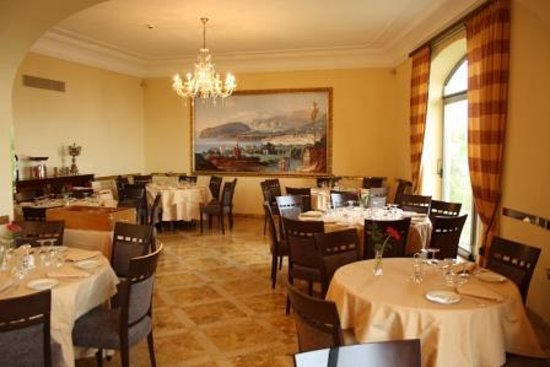 Grand Hotel Due Golfi : restaurant/breakfastroom
