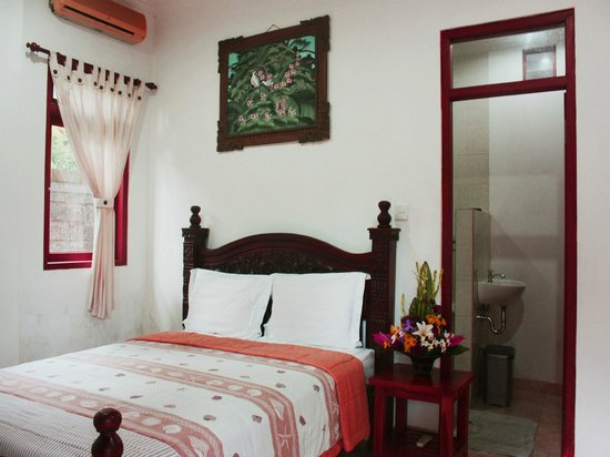 Teba House Ubud Guest House : Bedroom