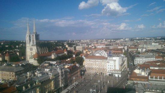 Zagreb Eye: View of Zagreb from Zagreb's Eye