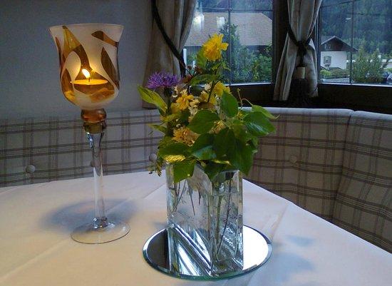 Romantik Hotel Stafler : il nostro tavolo