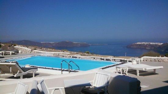 Santorini's Balcony: View from room 12