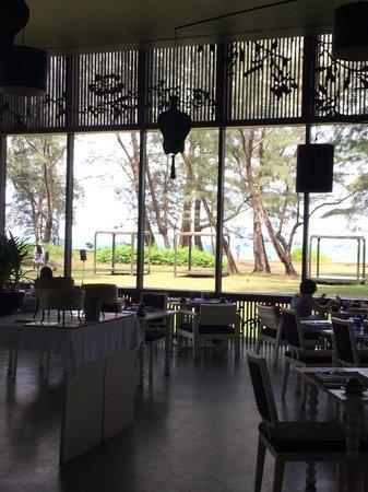 SALA Phuket Resort & Spa: Indoor Breakfast Area