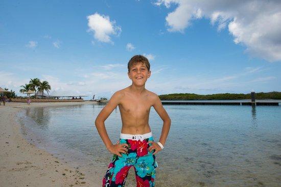 Santa Barbara Beach & Golf Resort, Curacao: prive strand