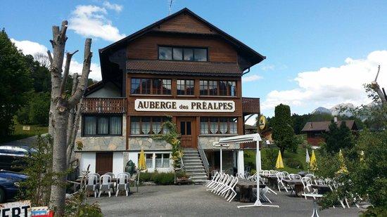 Restaurant Auberge des Prealpes: Auberge des préalpes
