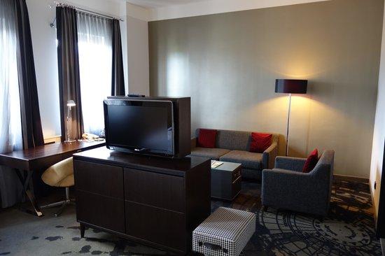 Le Meridien Grand Hotel Nürnberg: Sitting area