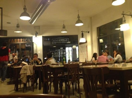Fabbrica Pizzeria con Cucina : inside view