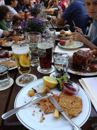 Wirtshaus Ayingers: Ayingers schnitzel