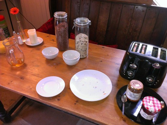 The White Hart Ironbridge: Breakfast buffet!