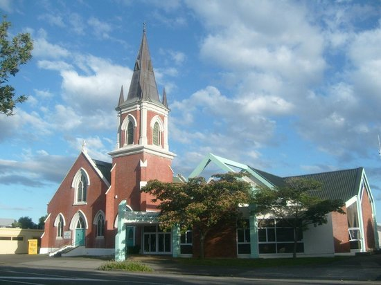 Palmerston North Clock Tower: Wesley Broadway Methodist Church