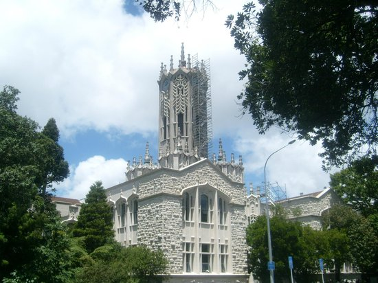 Albert Park: Uhrturm der Universität