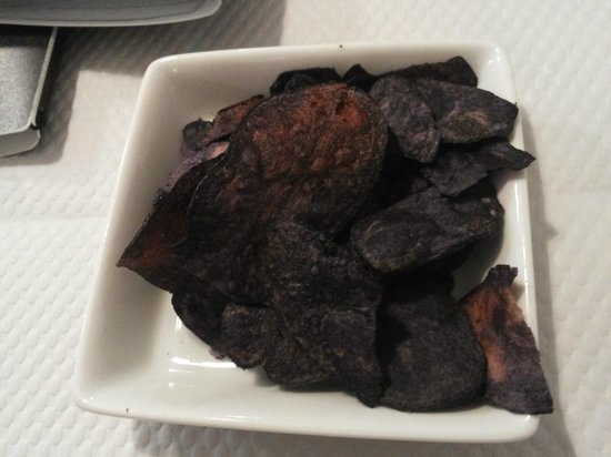 Le Petit Gourmand : Chips di patate vitelotte