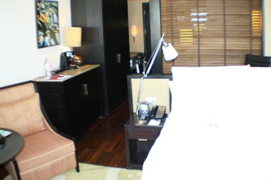 Millennium Hilton Bangkok : Delux Zimmer