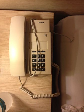 Club Nimara Beach Resort: want to call reception to ask for an upgrade? oh no the phone is not even connected.