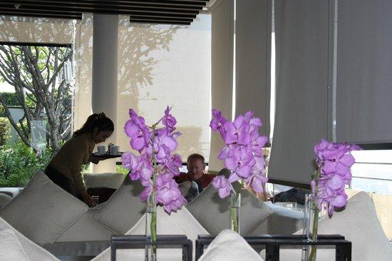 Millennium Hilton Bangkok : Club Lounge