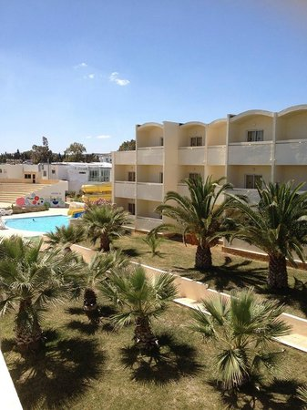 Omar Khayam Club: Veiw from our balcony