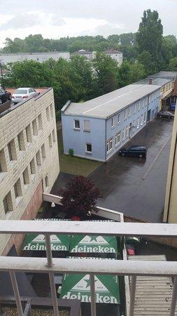 Hotel Santo : Ausblick aus Zimmer 413