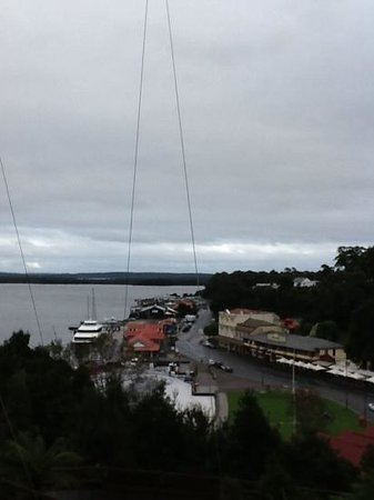 Strahan Village: a great view