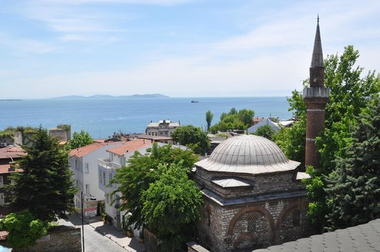 Megara Palace Hotel : Vue sur la mer de Marmara
