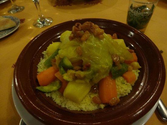 Riad Andalib: vegetarian tajin