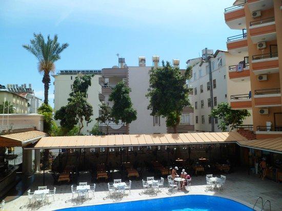 Fatih Hotel Kleopatra: En bild från hotelrummet