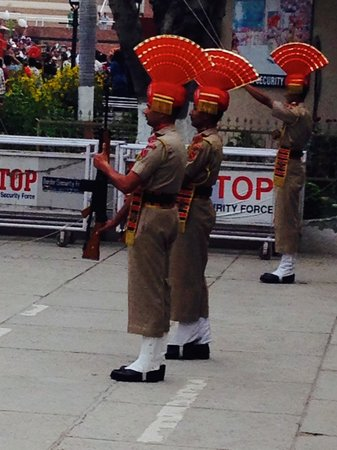 Wagah Border : The parade