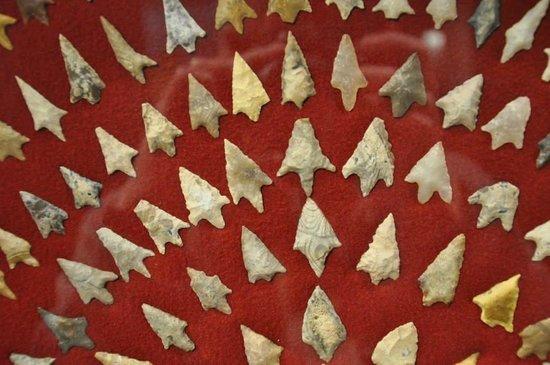 Musée d'Aquitaine : Arrowheads