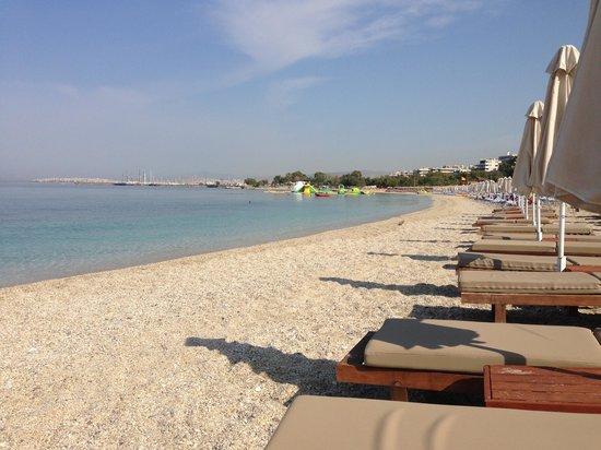 Glyfada Beach: plage
