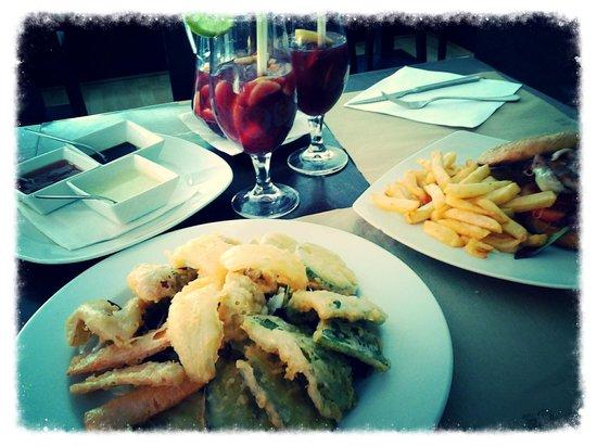 Restaurante Ambrosia: Tempura de vegetales!