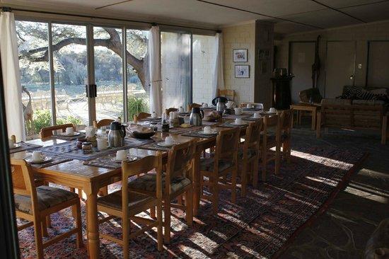 Buellsport Guest Farm: Speise/Frühstücksraum